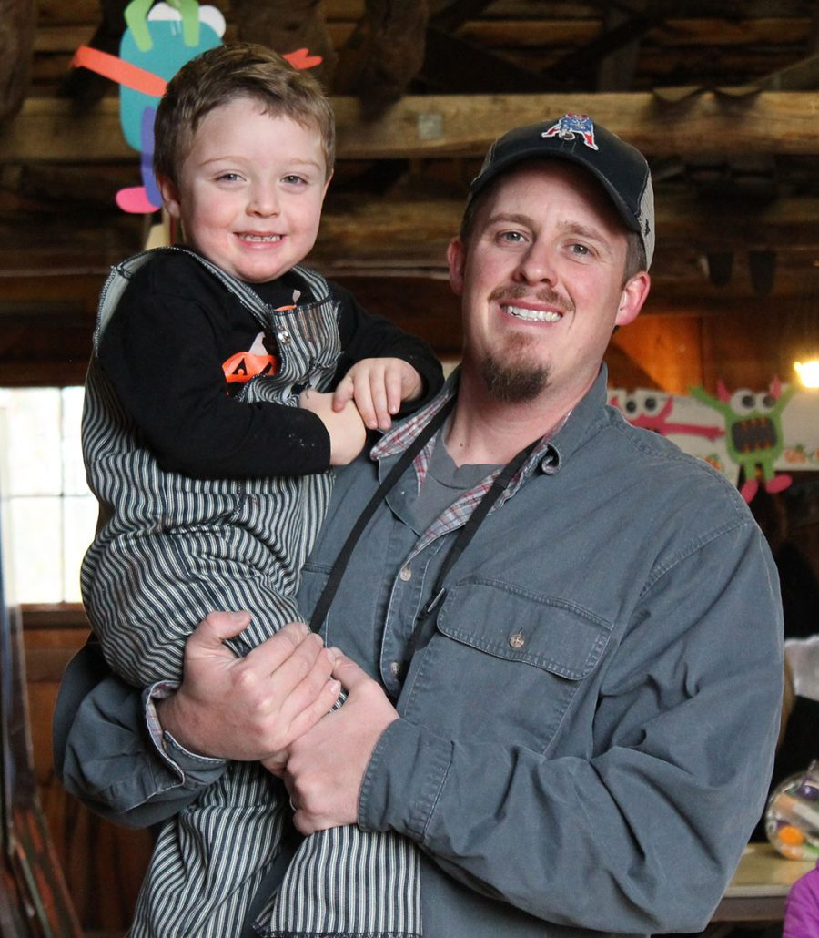 Father and son at Country Montessori
