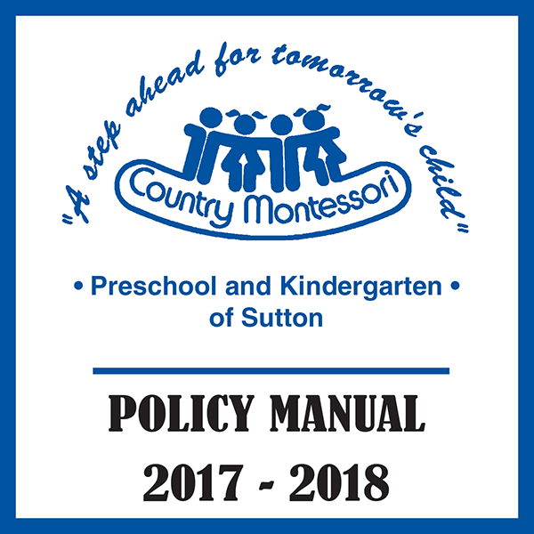 Policy Manual (2017-2018)